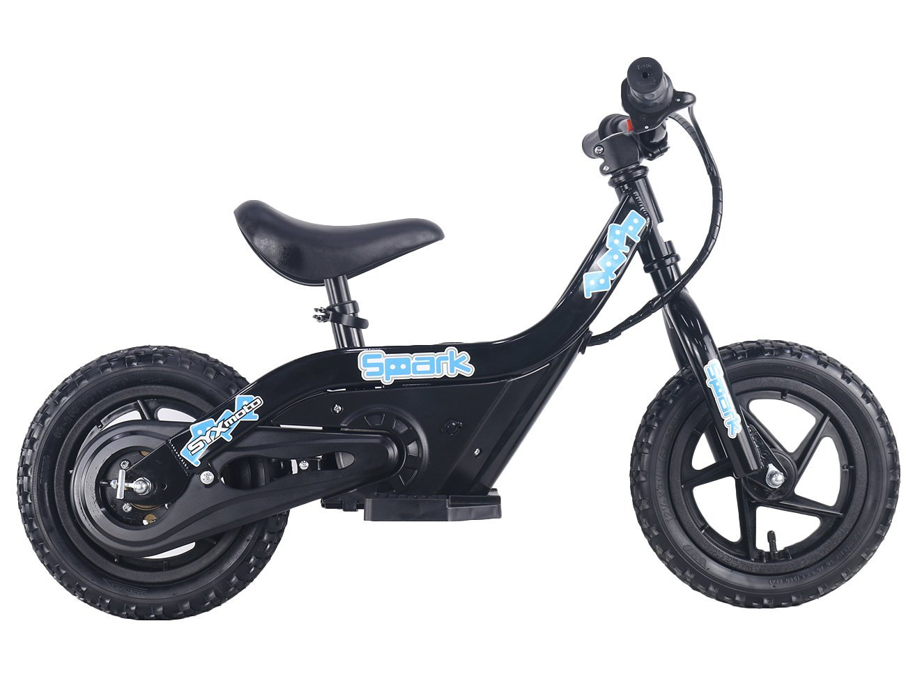 SYX MOTO SPARK Mini Electric Balance Bike Off Road, Black