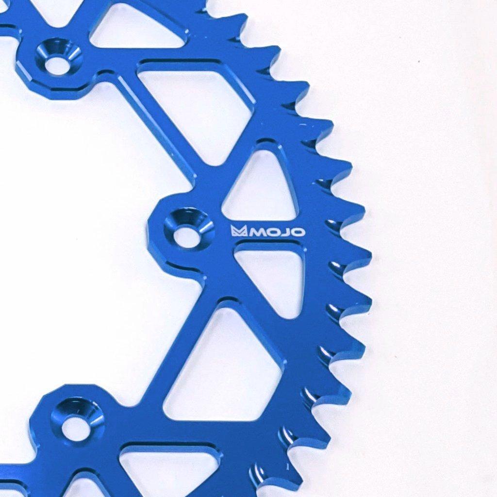 GasGas Aluminum Rear Sprocket Dark Blue | MOJO-GAS-RS-DBLU